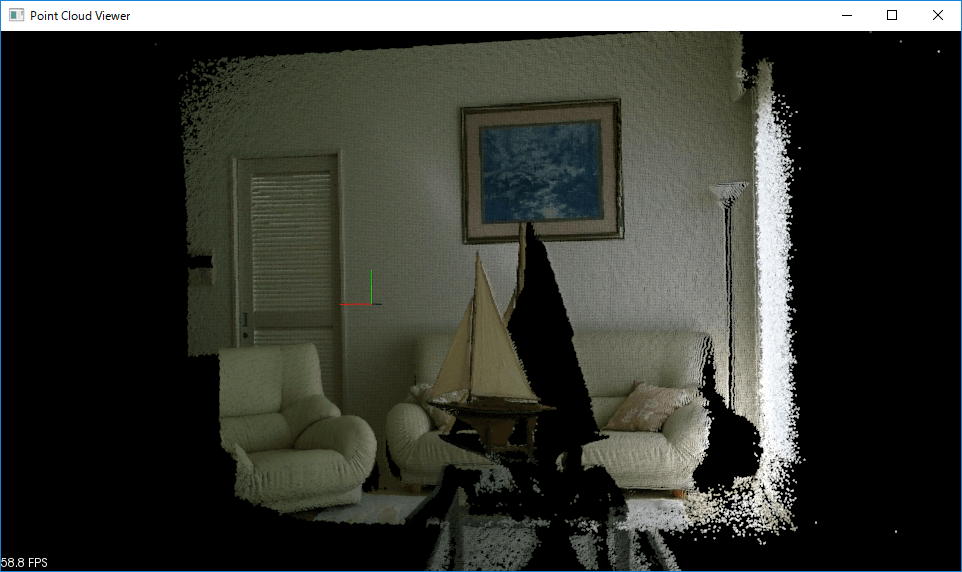 Drawing Point Cloud retrieve from Kinect v2 using Point Cloud